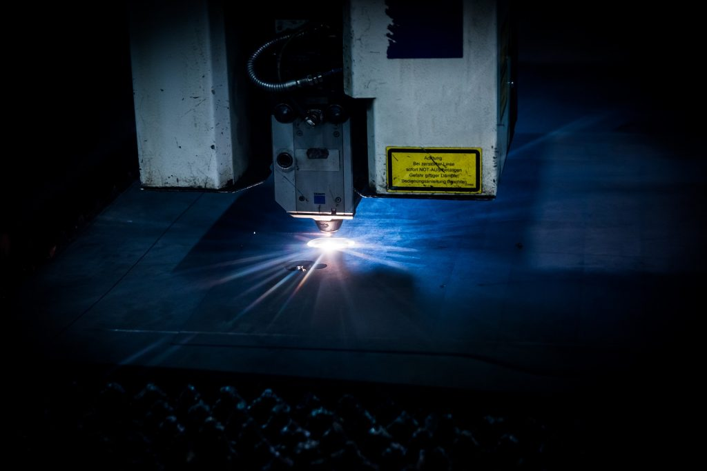 For Additive Manufacturing of Compound Materials through Laser Inversion
